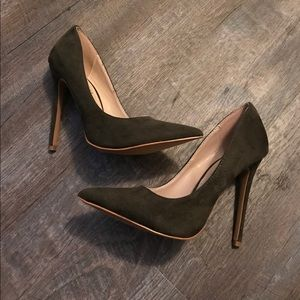 Windsor Olive Green Heel